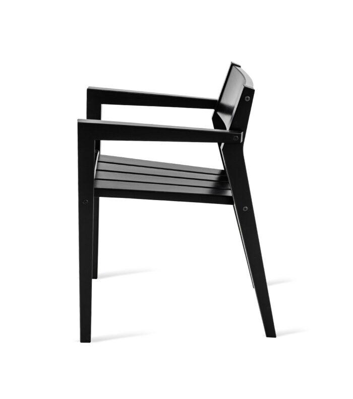 LAITURI-tuoli, musta