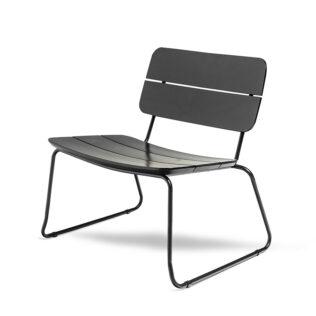 ELOKUU-lounge-ulkotuoli mänty musta