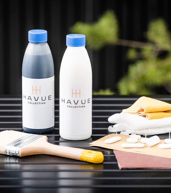 Tarvikkeet, hoitoaine ja kuullote | HAVUE Collection